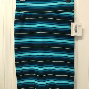 NWT Lularoe XS Striped Cassie